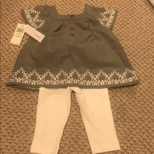 New with tags Calvin Klein baby set